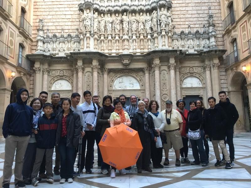 Visite de Montserrat