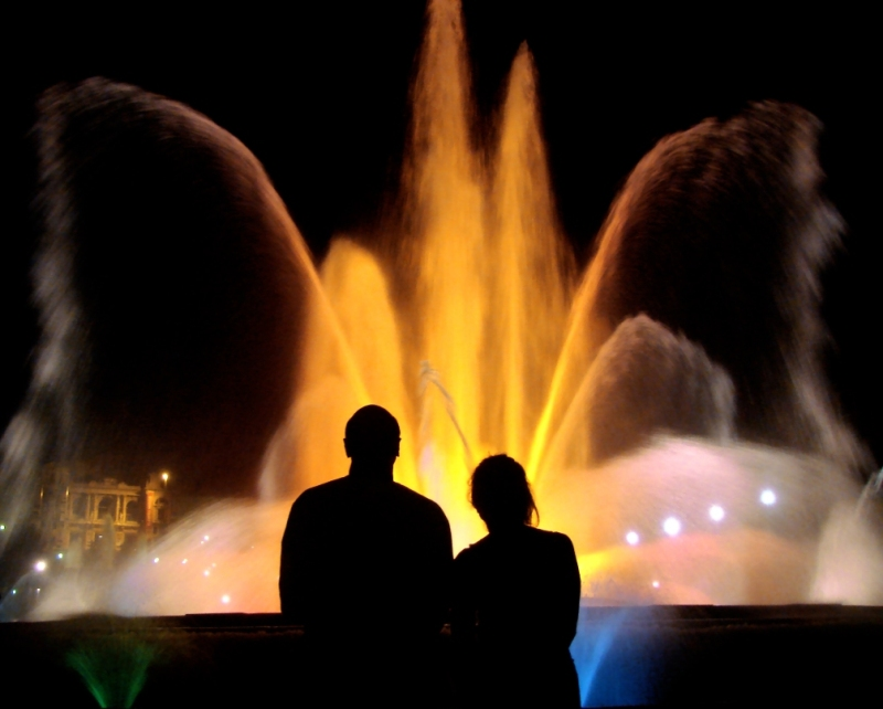 The Magic Fountain Night Tour