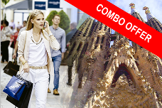 COMBO Oferta: Gaudí y La Roca Village Shopping tour