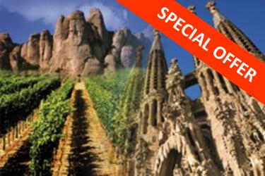 COMBO Montserrat i Codorníu + Sagrada Família