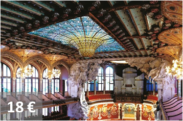 Palau de la Música Catalana Guided Visit