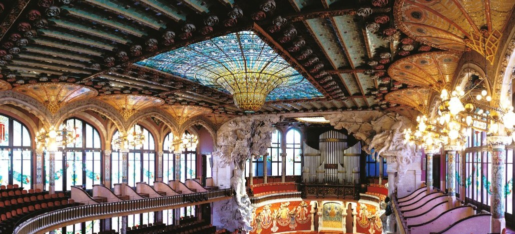 Palau De La M 250 Sica Catalana Guided Visit