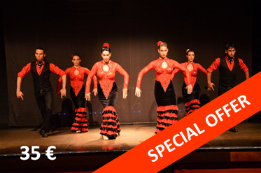 Palacio del Flamenco – espectacle amb menú de tapes opcional