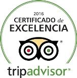 Certificate Excellence TripAdvisor 2016