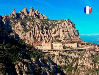 Après-midi à Montserrat avec la vierge Noire