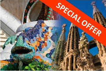 COMBO Gaudí Park Güell + Sagrada Família Offer