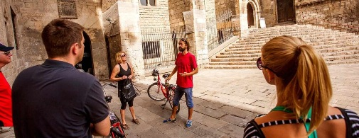 An authentic bike tour in Barcelona