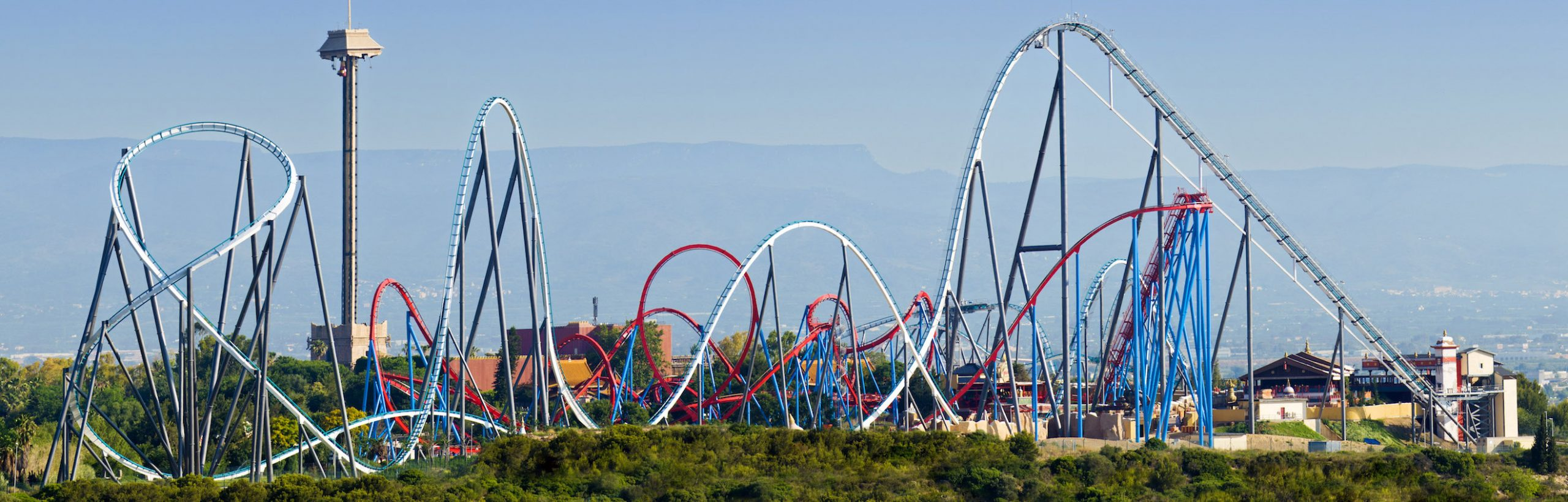 PortAventura Park from Barcelona day trip