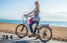 Foto tour en bicicleta eléctrica por Barcelona