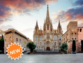 Cathedral of Barcelona & Gothic Quarter + VR Experience