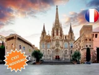 Cathédrale de Barcelone et Quartier Gothique + Expérience VR